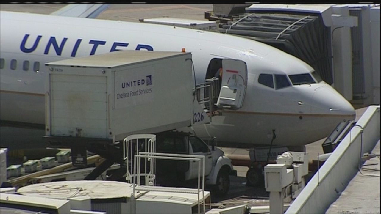 Three accused of stealing items left on airplanes